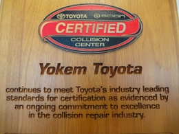 Toyota/Scion Certified Center⁠⁠